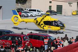 Fernando Alonso, McLaren es trasladado en helicóptero al hospital
