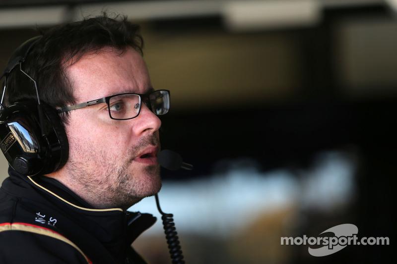 جوليان سيمون شوتون، مهندس سباق رومان جروجان، فريق لوتس اف1