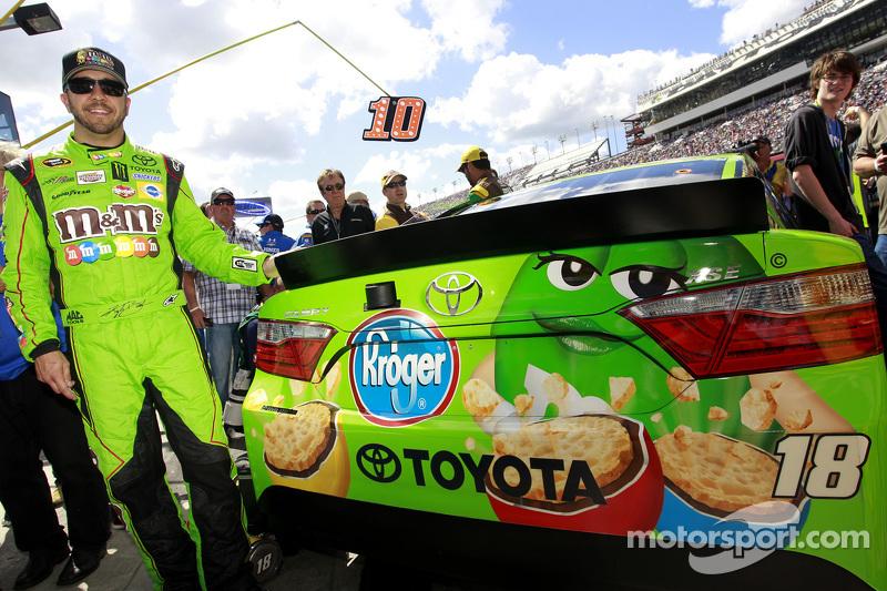 Matt Crafton ersetzt Kyle Busch bei Joe Gibbs Racing, Toyota