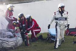 Kyle Busch despues del coche, Joe Gibbs Racing Toyota