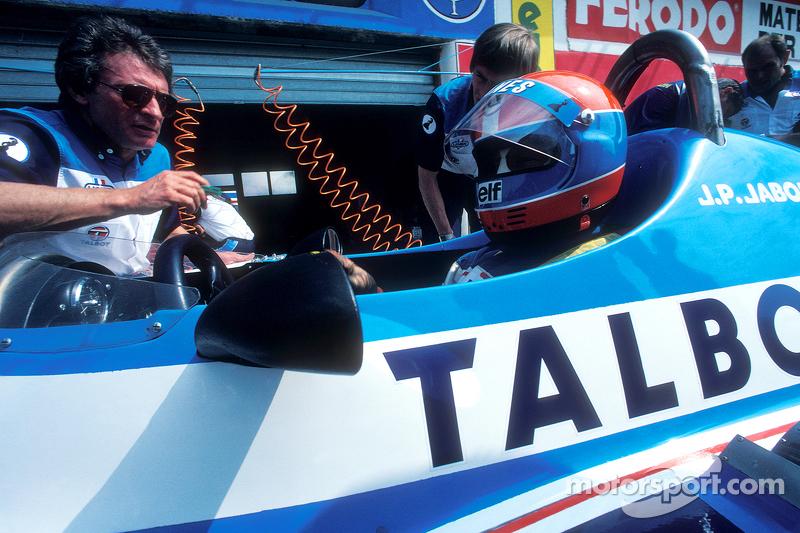 Gérard Ducarouge, Jean-Pierre Jabouille, Talbot Ligier