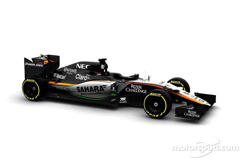 Der Force India VJM08