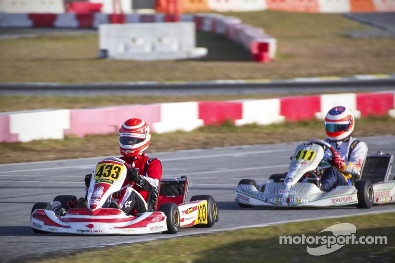 Nelson Piquet jr. vor Rubens Barrichello