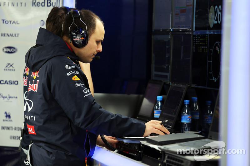 Gianpiero Lambiase, Engenheiro da Red Bull Racing