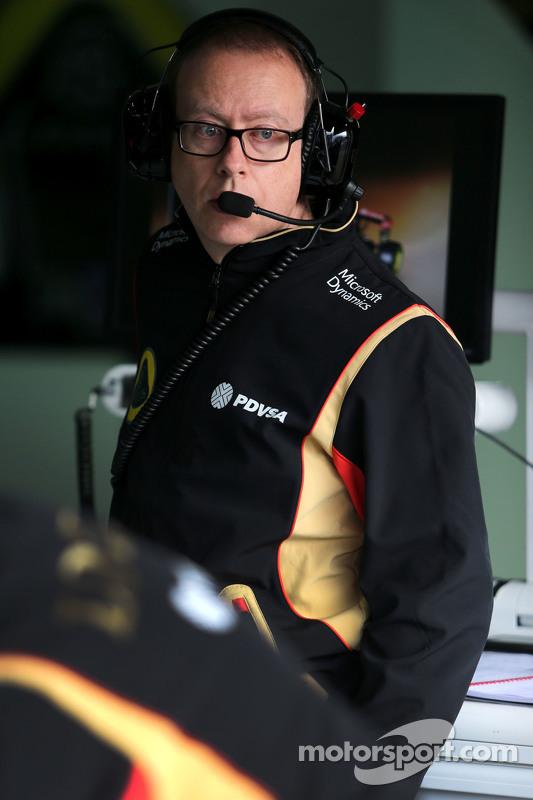 Марк Слейд, Lotus F1 Team, гоночний інженер