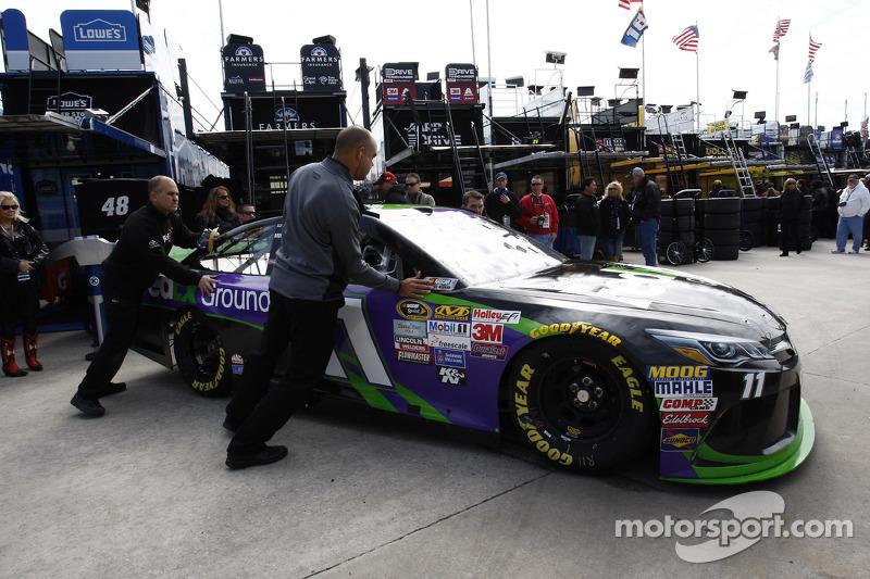 машина для Денні Хемлін, Joe Gibbs Racing Toyota