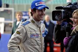 Bruno Senna is interviewed for British TV