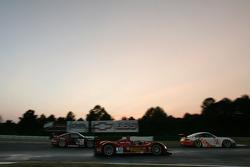 #78 J3 Motorsport Porsche 911 GT3 RSR: Michael Cawley, Tony Burgess, Leh Keen, #30 Barazi Kruse-Motorsport Courage C-65 AER: Phil Bennett, Juan Barazi, Elton Julian, #43 BAM! Porsche 911 GT3 RSR: Wolf Henzler, Mike Rockenfeller