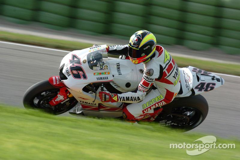 Valencia 2005 - Tercer lugar con diseño especial de Yamaha