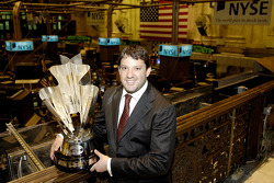 Tony Stewart visits the New York Stock Exchange