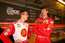 Sébastien Bourdais and Marcus Gronholm