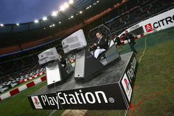Playstation game winners in action