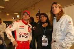 Sébastien Loeb, Michèle Mouton and Amélie Mauresmo