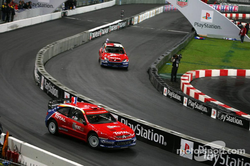Final 2: Marcus Gronholm and Sébastien Loeb