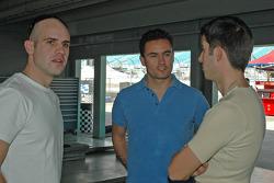 Marino Franchitti, Sascha Maassen, Christian Fittipaldi