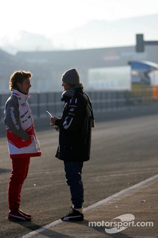 Nico Rosberg et Ryan Briscoe
