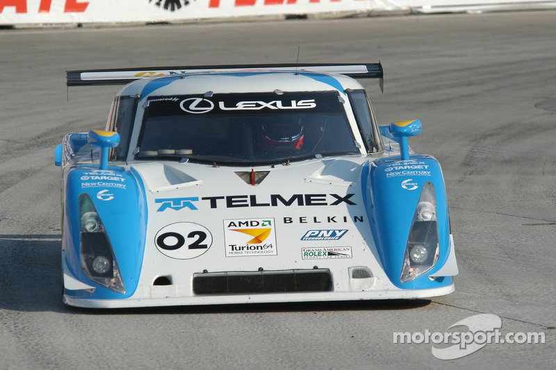 #02 Telmex Chip Ganassi w/Sabates Lexus Riley: Cort Wagner, Stefan Johansson