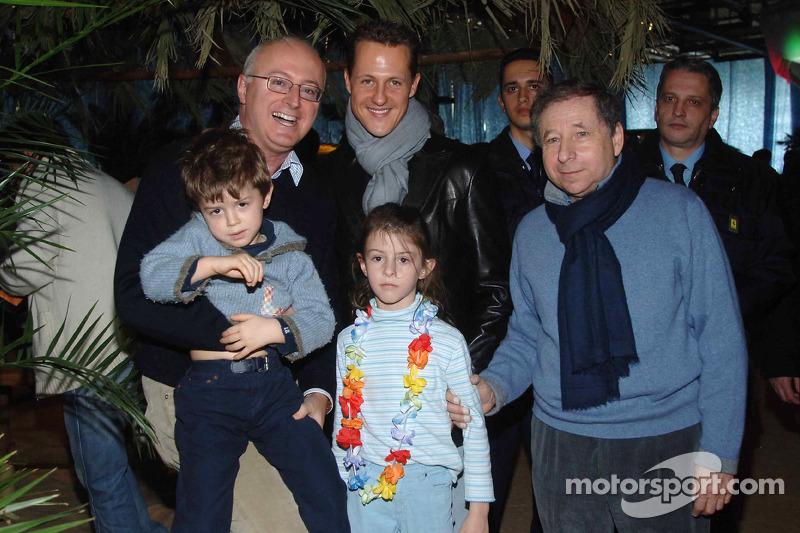 Jean Todt, Michael Schumacher ve Mario Micheli