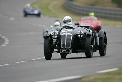 #44 Frazer Nash Le Mans Replica: Andrew Hall, Peter Bradfield