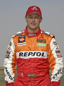 Team Repsol Mitsubishi Ralliart: Jean-Paul Cottret