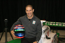 Tony Kanaan in the No. 11 Team 7-Eleven Dallara Honda Firestone that he will drive in the 2006 season