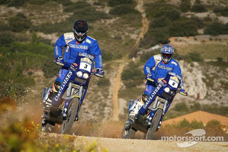 Equipe Gauloises KTM: Isidre Esteve Pujol et David Casteu