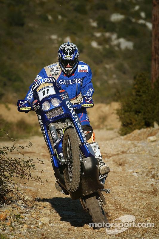 The Gauloises KTM: Michel Gau
