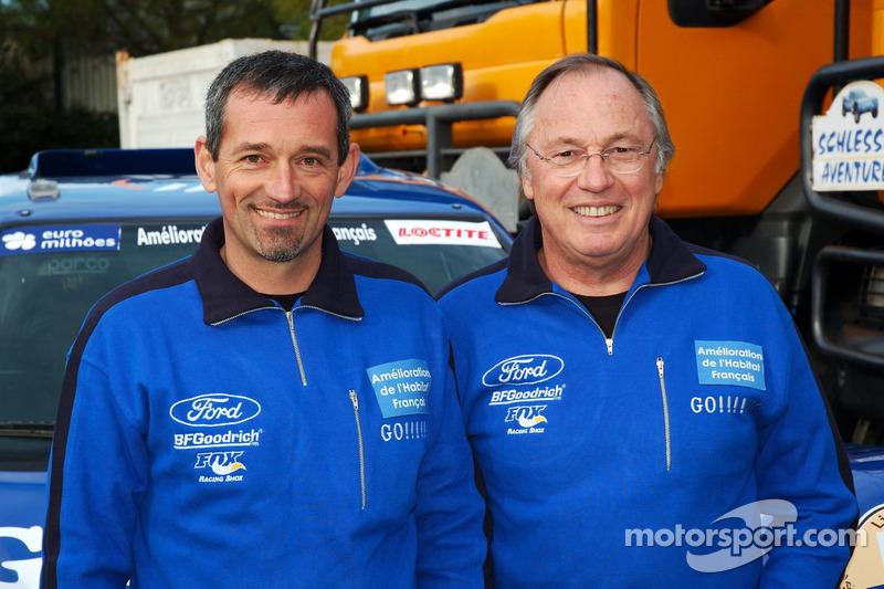 Team Gauloises Schlesser: François Borsotto et Jean-Louis Schlesser