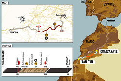 Stage 5: 2006-01-04, Ouarzazate to Tan Tan