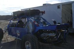 Vanguard Racing: Las Vegas pre-run buggy in the staging area