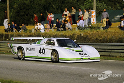 #40 Jaguar Group 44  Jaguar XJR5: Brian Redman, Jim Adams, Hurley Haywood