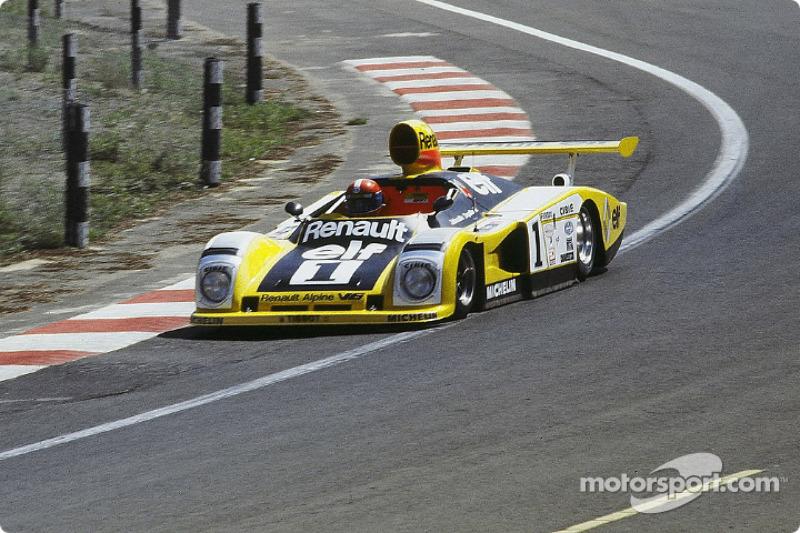 #1 Renault Sport Renault-Alpine A443: Jean-Pierre Jabouille, Patrick Depailler