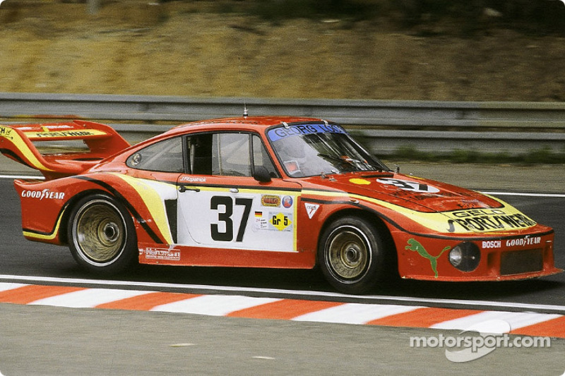 #37 Gelo Racing Team Porsche 935: John Fitzpatrick, Jean-Louis Lafosse, Harald Grohs
