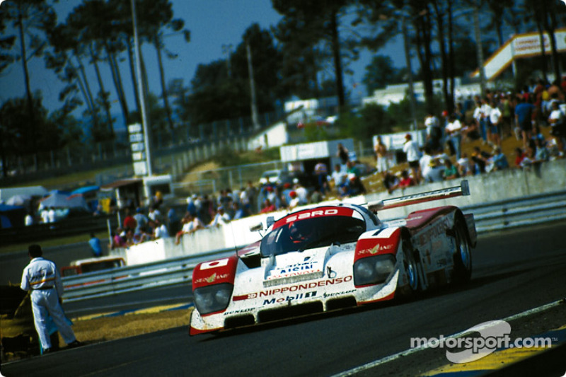 """""""Young"""" Eddie Irvine drives the #1 SARD Company Toyota 94C on sunday morning"""