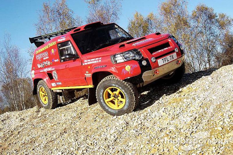 Team Rally Raid UK: Paul Green et Martin Coulson