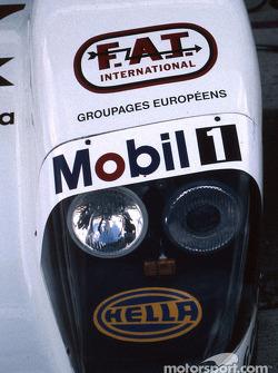 Headlights of the Joest Racing TWR Porsche WSC 95