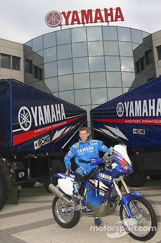 Yamaha Motor France: David Frétigné avec sa Yamaha WR450F