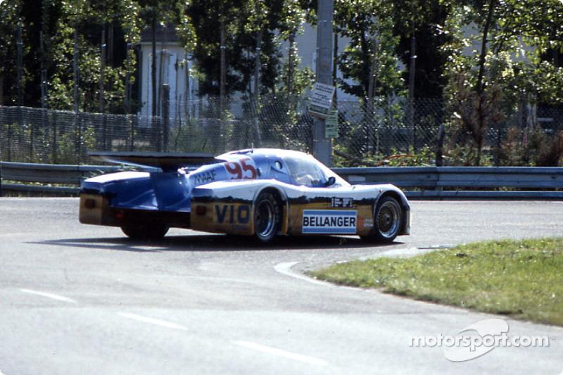 #95 Rolland Bassaler Sauber SHS C6 BMW: Dominique Lacaud, Roland Bassaler, Yvon Tapy