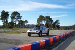 Vanguard Racing test in France: Ronn Bailey tests the 2006 Vanguard Racing Rally Car