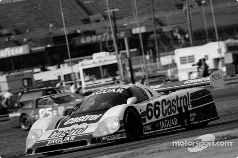 #66 TWR Jaguar XJR-9: Eddie Cheever, Johnny Dumfries, John Watson