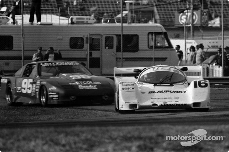 #16 Dyason Porsche 962: Rob Dyson, James Weaver, Price Cobb, Vern Schuppan