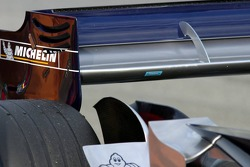 Thermometer on the rear wing of the Red Bull Racing RB2