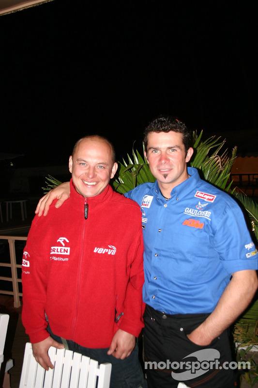 Jacek Czachor et Cyril Despres