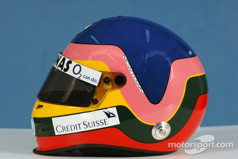 Helmet of Jacques Villeneuve