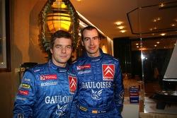 Kronos Total Citroën service area: Sébastien Loeb and Xavier Pons