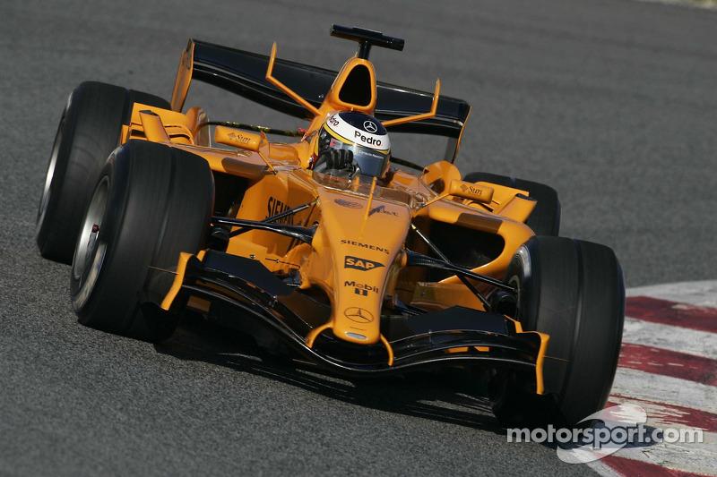 Pedro de la Rosa, McLaren MP4/21 (2006) (test)