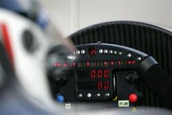 Cockpit of the Dyson Racing Lola B06/10-AER