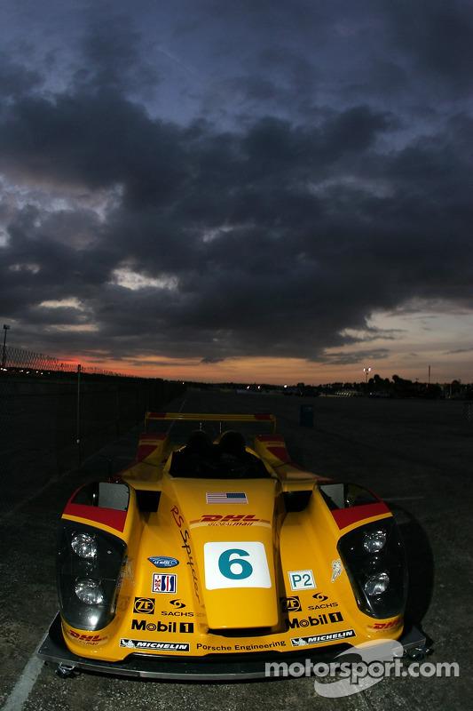 Siège de la Porsche RS Spyder