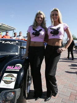Playboy Racing photoshoot: charming playmates