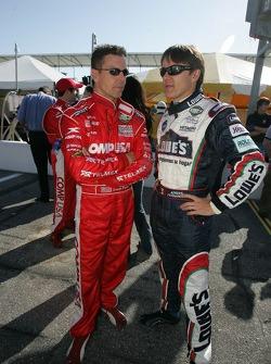 Scott Pruett and Adrian Fernandez